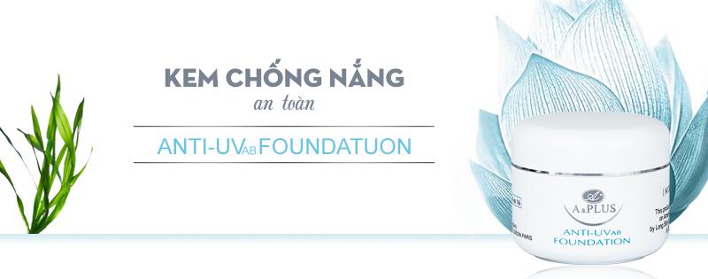 kem nền chống nắng Anti – UVab Foundation - 2